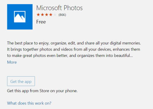 Update to the Photos app for Windows 10 Mobile adds new features
