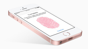 Apple iPhone SE TouchID is the same as in 5s, slower than iPhone 6s fingerprint sensor