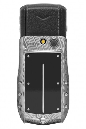 Cell phone made using same technology as samurai katanas – Vertu Ascent Ti Damascus Steel