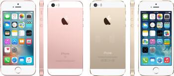 iPhone SE vs. iPhone 5s