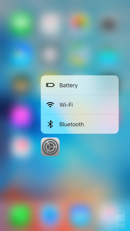 3D Touch Quick Actions in iOS 9.3