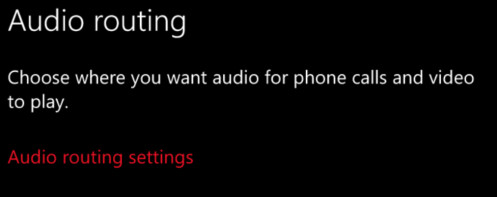 Audio Routing is a feature that will come to the internal Redstone builds of Windows 10