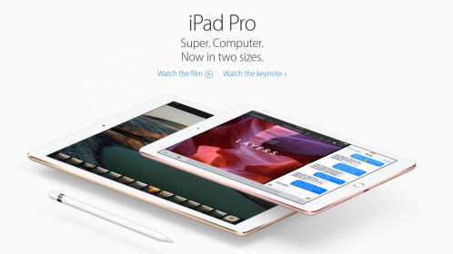 The new variant of the iPad Pro