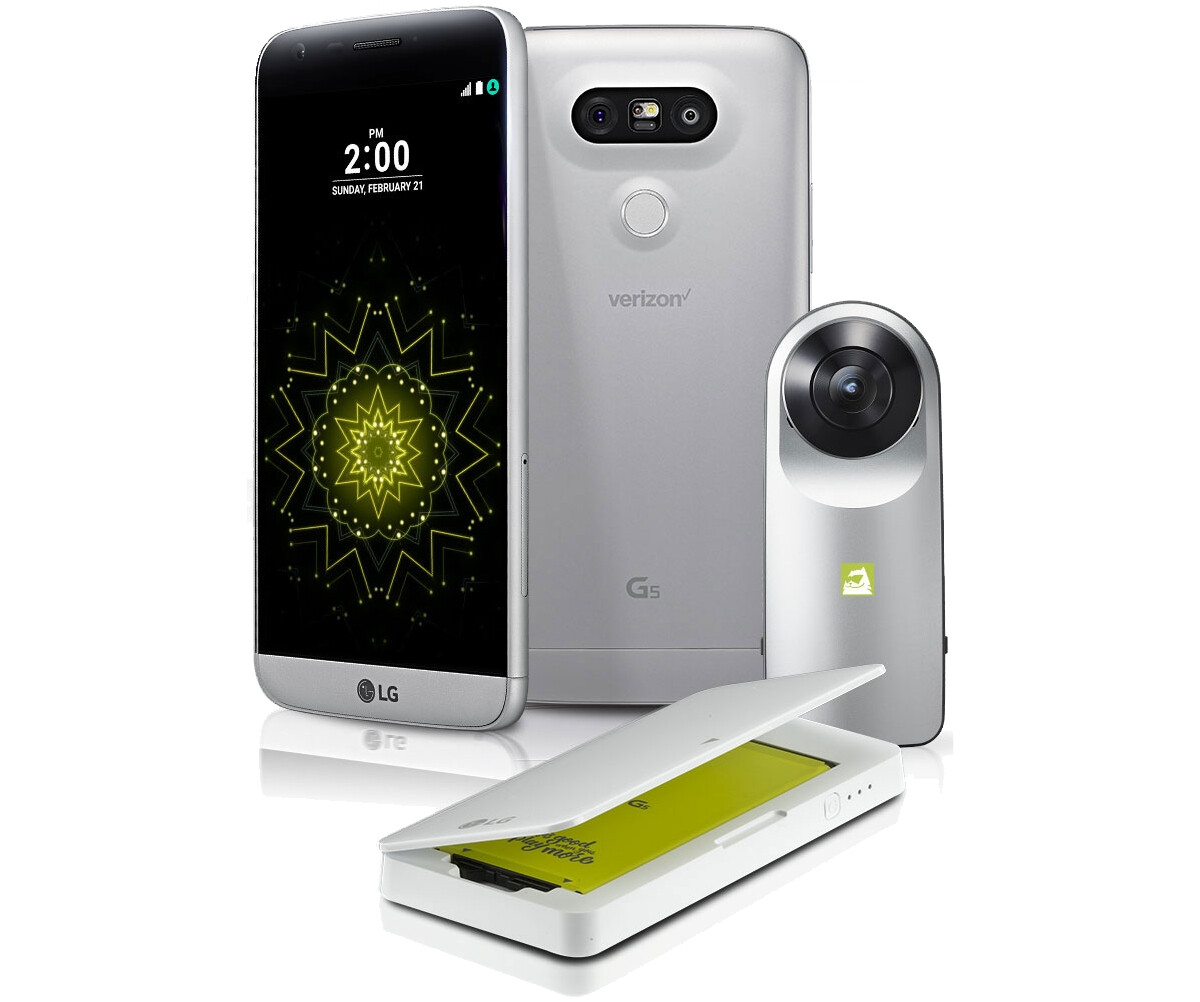 Verizon Opens Lg G5 Pre Orders Launches The Lg K4 Lte