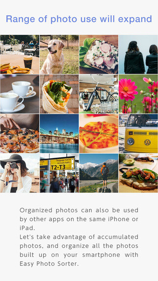 Cnnon Easy photo Sorter iOS app