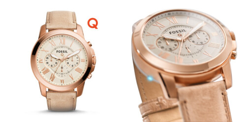 Fossil Q Grant Chronograph Sand Leather - $195.00