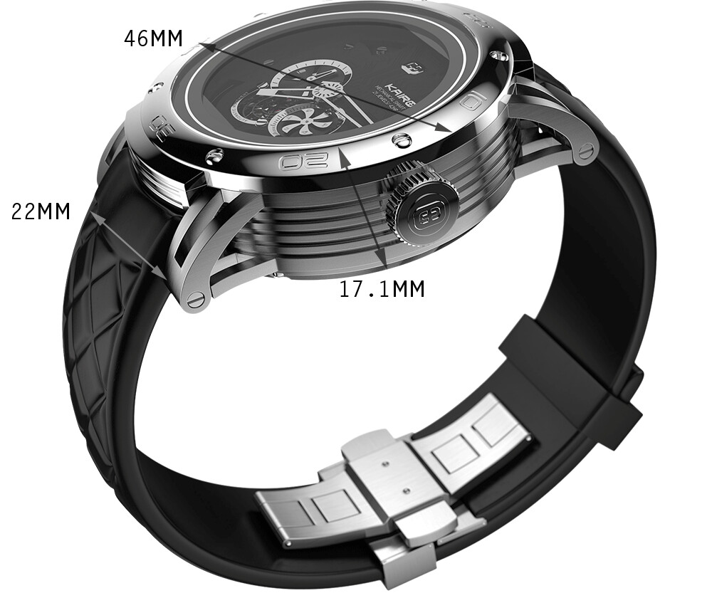 Quartz and mechanical watches with smart connected features