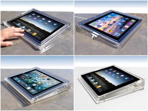 Acrylic iPad Desk Mount