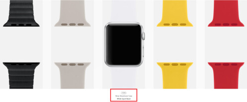 Apple Watch Gallery lets you check out what your personally designed Apple Watch will look like