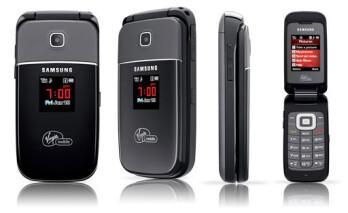 Virgin Mobile announces the Samsung Mantra flip phone
