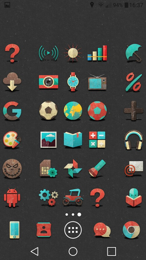Retron UI icon pack