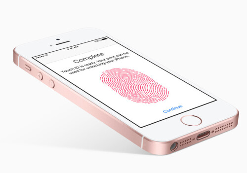 iPhone SE uses the old, first-generation Touch ID sensor