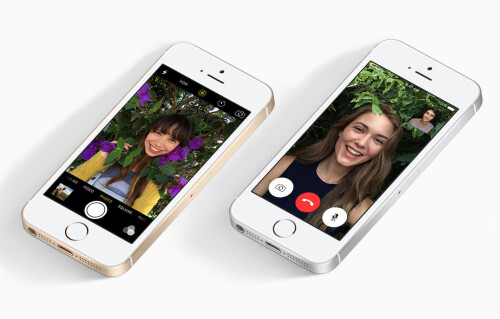 iPhone SE has a lower-res front-facing camera