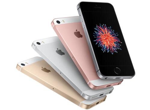 iPhone SE has no protruding camera