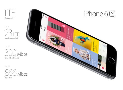 No LTE Advanced, MIMO antennas for iPhone SE