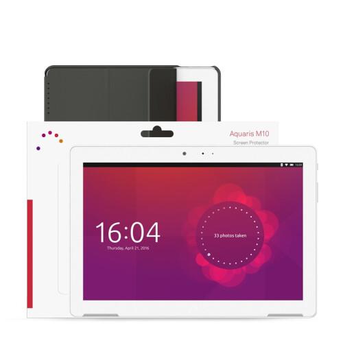 The Aquaris M10 Ubuntu Edition