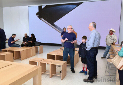 Apple's next-generation store launched last weekend in Memphis
