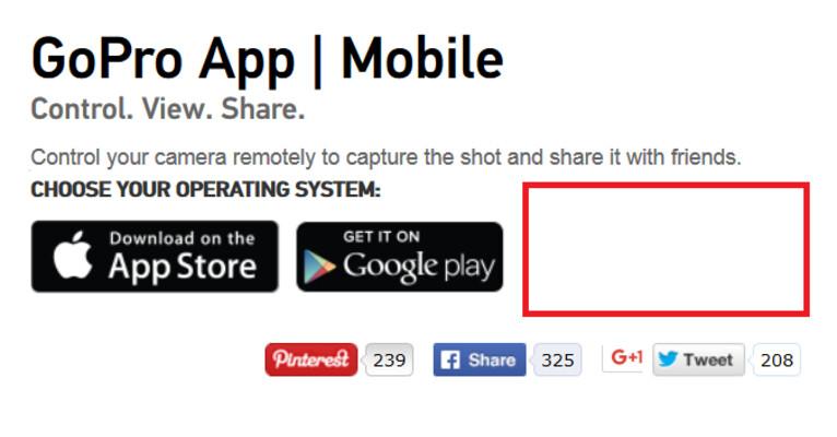 GoPro app no longer supports Windows Phone