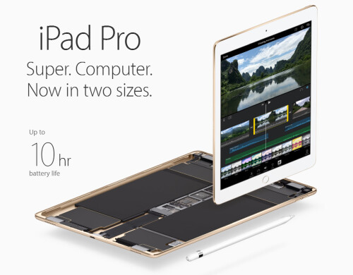 iPad Pro 9.7 should charge faster