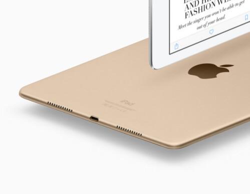 USB 3.0 for iPad Pro 12.9, USB 2.0 for iPad Pro 9.7