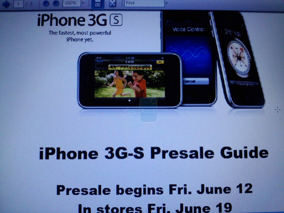 Best Buy offering pre-orders on all new versions of the iPhone 3G S