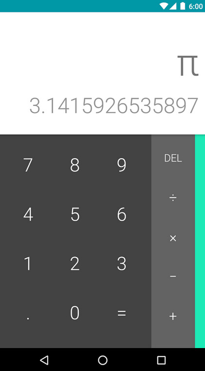 Play store calculator