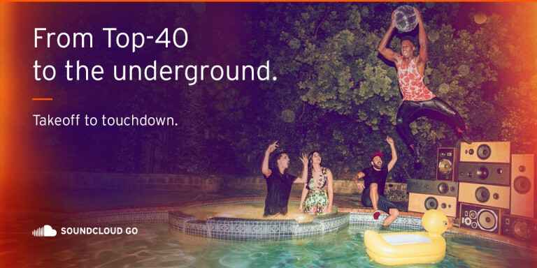 SoundCloud jumps the paid music streaming bandwagon with 'Go