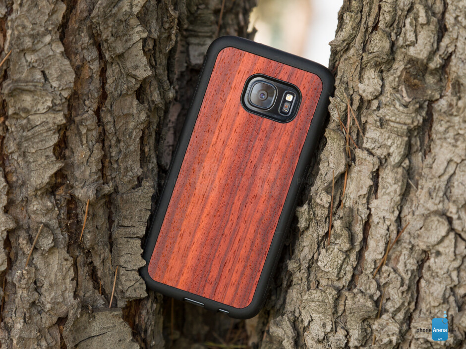 Cover-Up Samsung Galaxy S7 & S7 edge Natural Wood Cases Hands-on