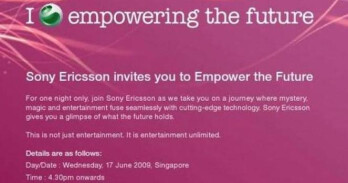 Sony Ericsson to announce the Xperia X2 on June 17