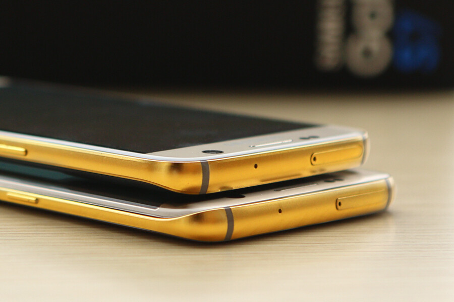 Let Karalux's 24K Gold Galaxy S7 and S7 edge remind you of all the other luxury stuff you can't afford