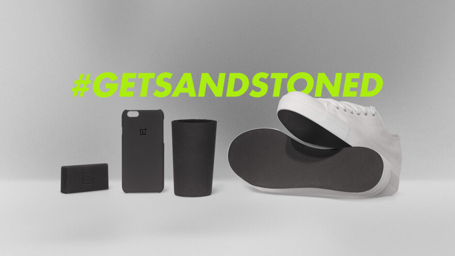 OnePlus goes on an anti-slip crusade, gives Sandstone finish to soaps and sneakers