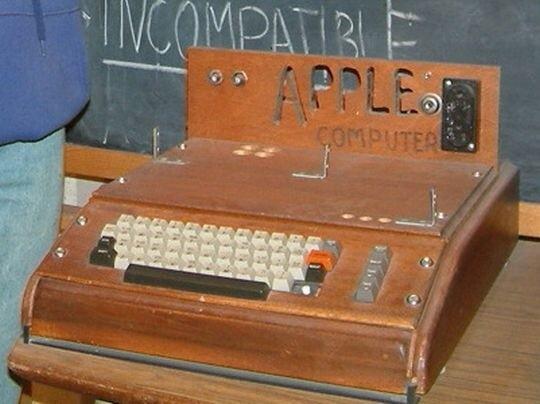 Apple I - Apple turns 40 today