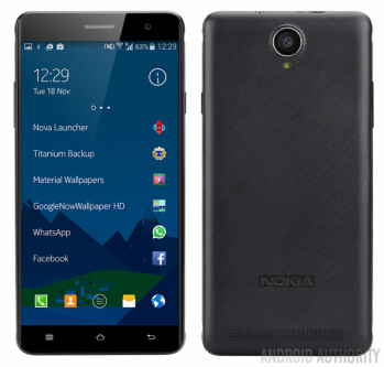 Nokia is back: leaked image showcases the Android-powered A1 smartphone in all its glory