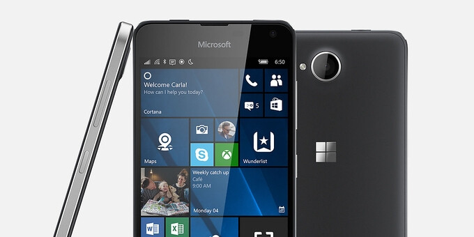 The affordable Microsoft Lumia 650 goes on sale in the US