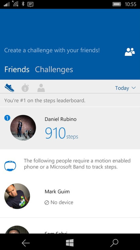Update to Microsoft Band 2 gives it more functionality