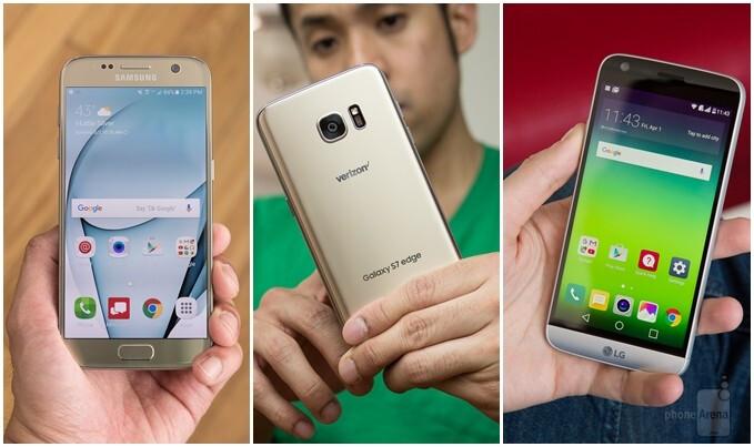 Samsung Galaxy S7 vs Galaxy S7 edge vs LG G5: vote for the better phone