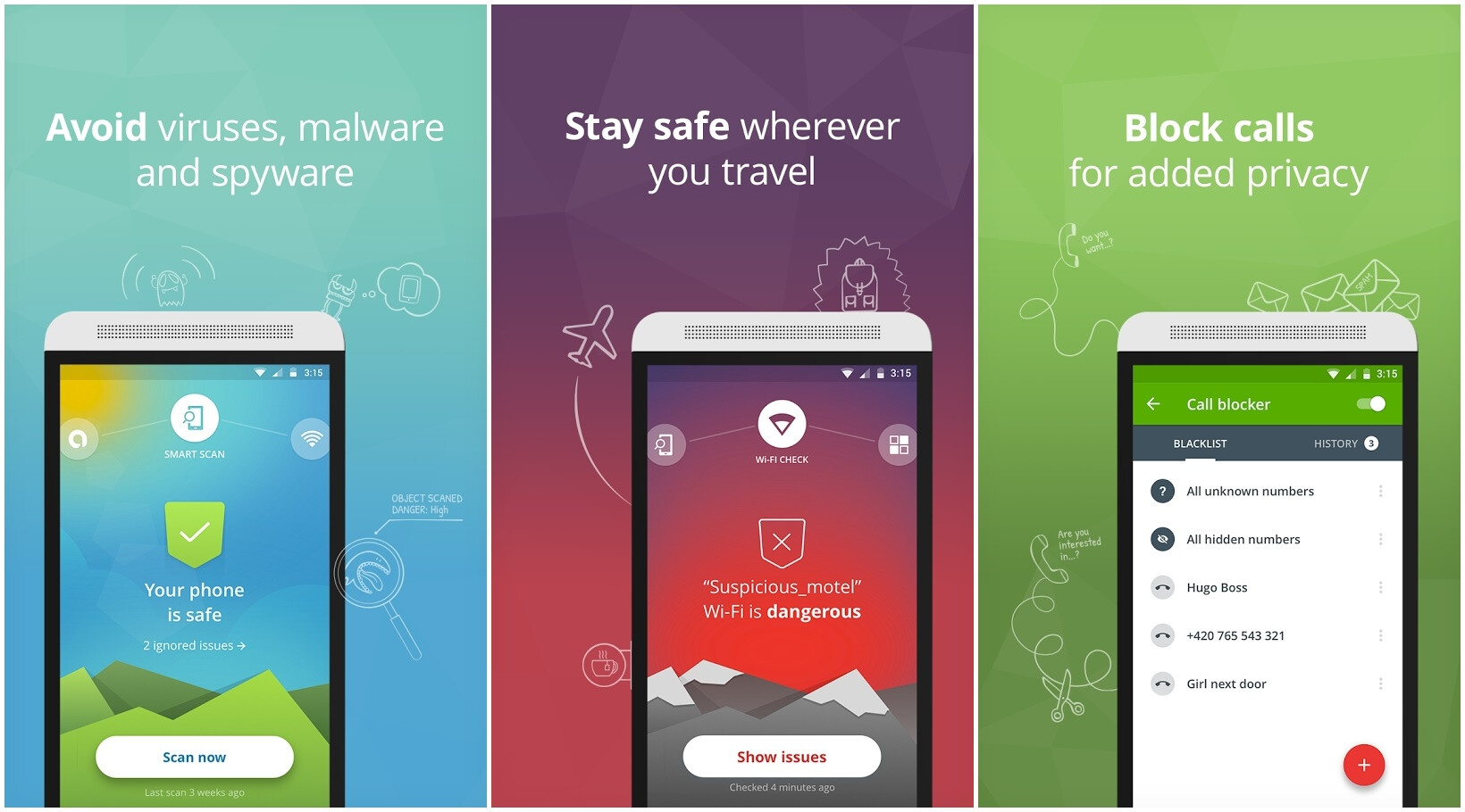 5 top-rated antivirus and security apps for Android ...