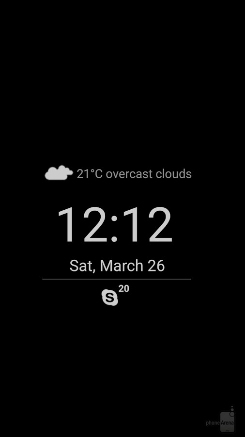 how to change font colour of lock screen samsung s6
