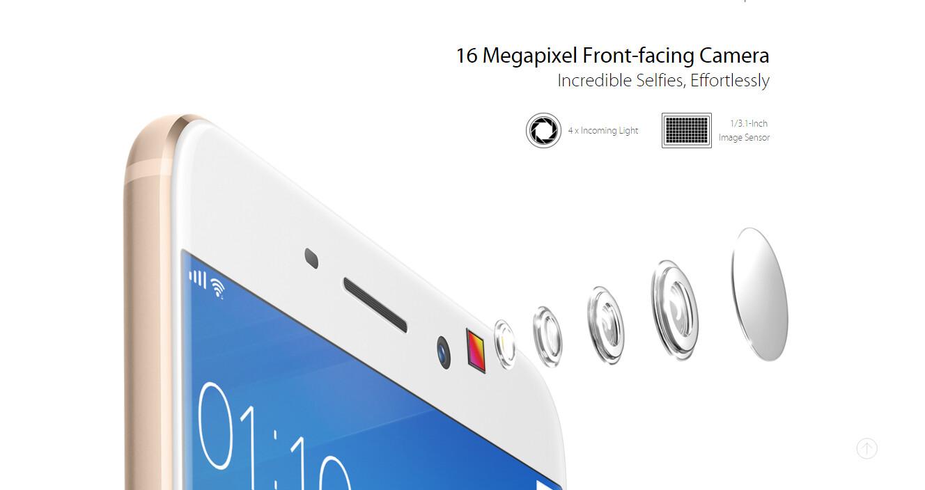 Oppo's latest iPhone clone packs a hi-spec selfie camera
