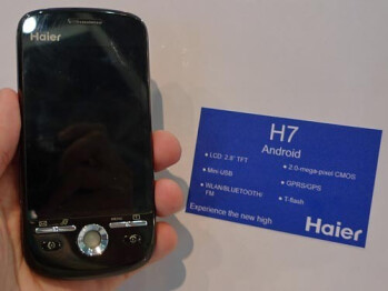 Haier H7 is an Android-based cell phone