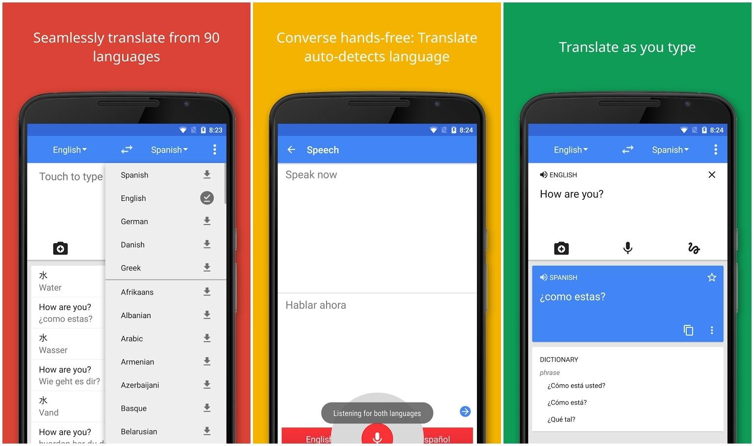 Ok google google translate-5602