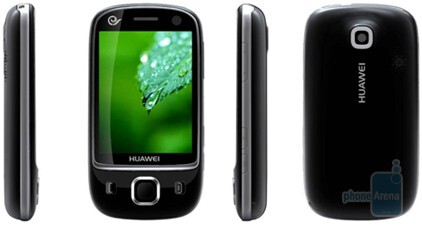 Huawei C8000 is a Windows Mobile smartphone - Huawei shows two new phones with Android and WM