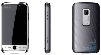 Huawei U8230 is an Android-based phone - Huawei shows two new phones with Android and WM