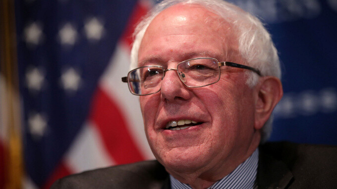 """Bernie Sanders on Apple: """"I wish they would not be trying to avoid paying their fair share of taxes"""""""