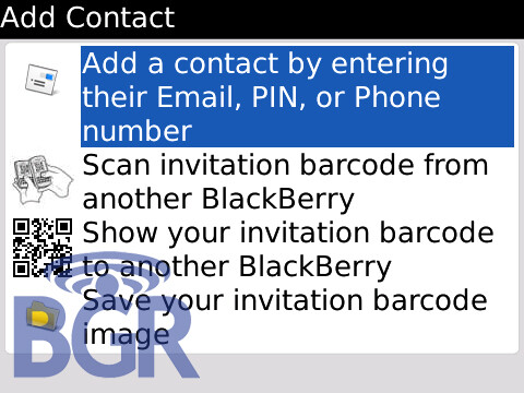 new blackberry messenger to appear on all 'berry's running
