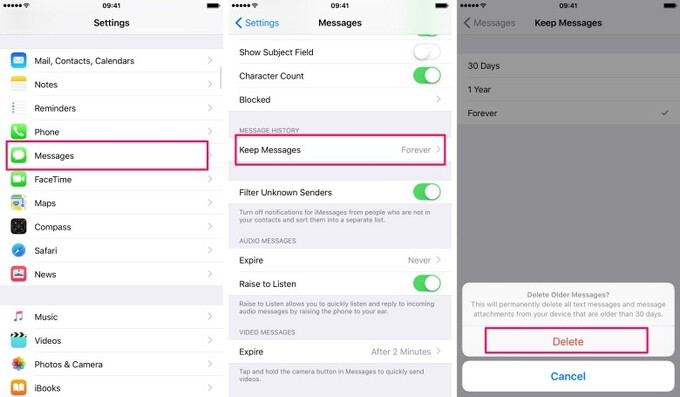 How to automatically delete old messages on an iPhone or iPad - How to save storage on an iPhone or iPad by automatically deleting older messages