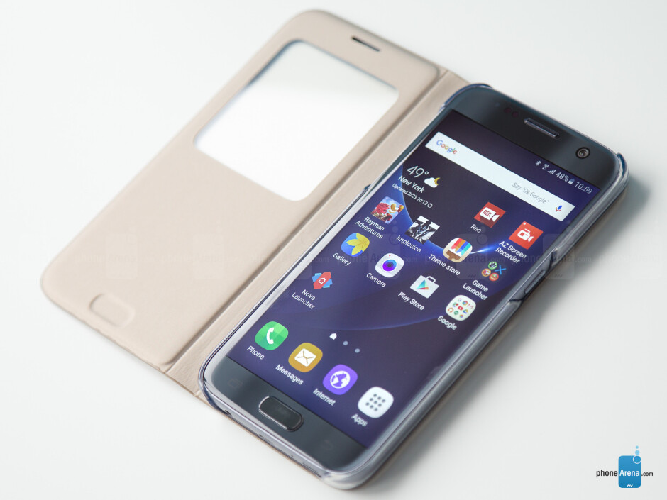 Samsung Galaxy S7 S View Cover review: The classic recipe