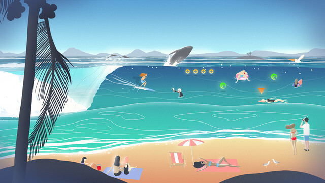 Go Surf - The Endless Wave - Best new Android and iPhone games (April 6th - April 11th)