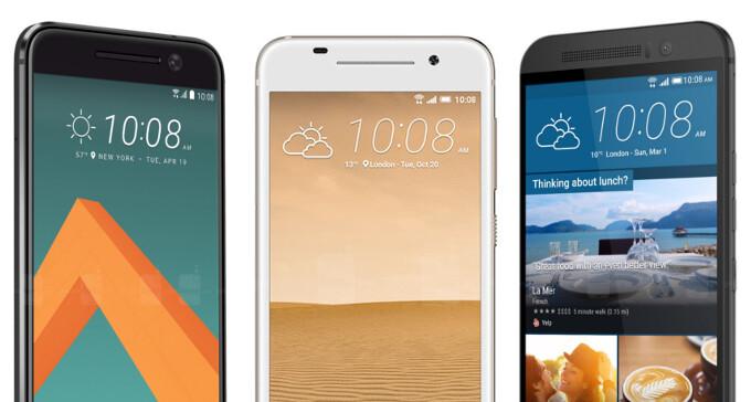 HTC 10 vs HTC One M9 vs HTC One A9: specs comparison