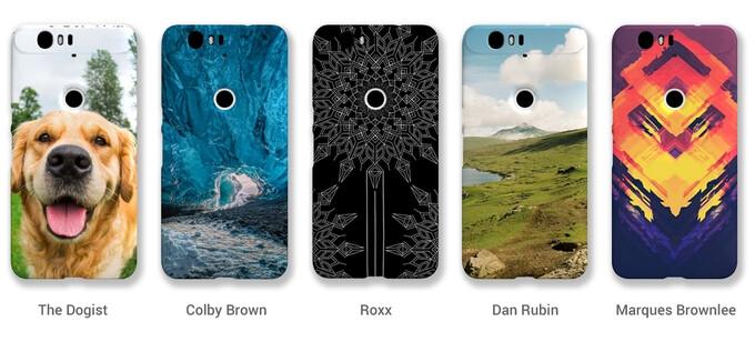 Google unveils customizable snap-on cases for the Nexus 5X, Nexus 6, and Nexus 6P